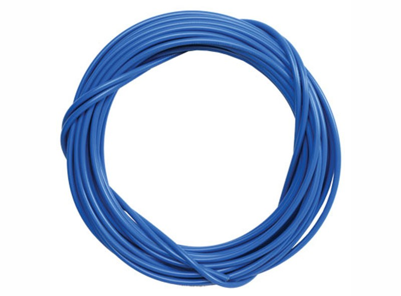 DIY Moped Cable Housing - Blue