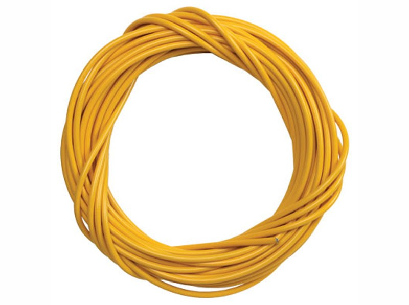 DIY Moped Cable Housing - Yellow