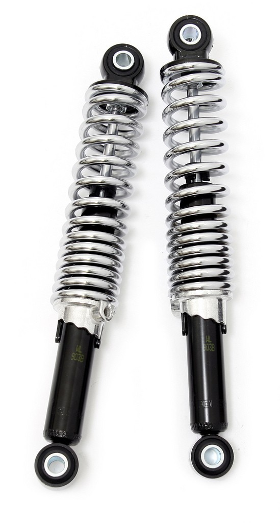 Heavy Duty Chrome Shocks -280mm