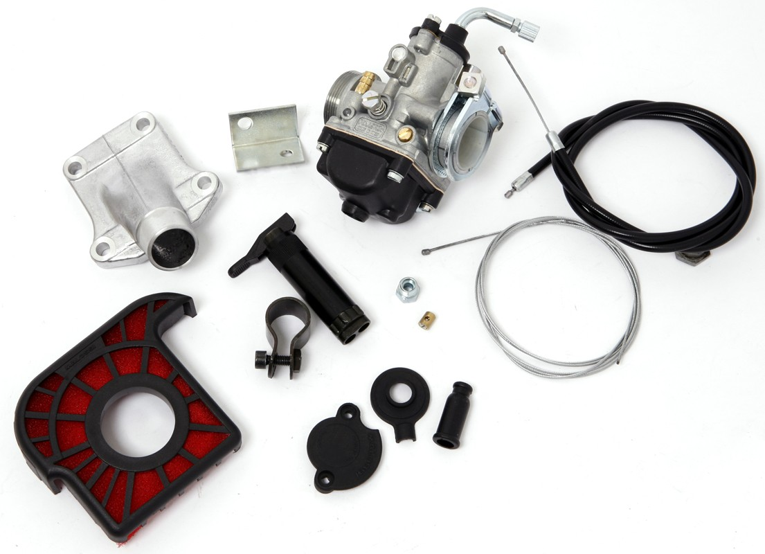 Honda Moped Malossi 21mm Dellorto Carburetor Kit