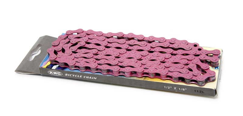 KMC Pedal Chain Pink