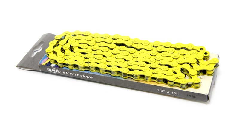 KMC Pedal Chain Yellow