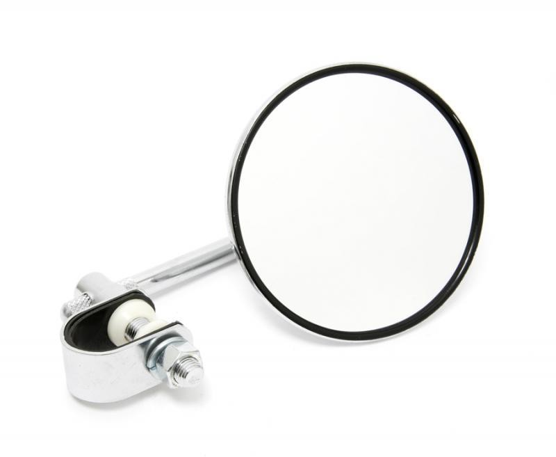 Universal 4in Chrome Mirror