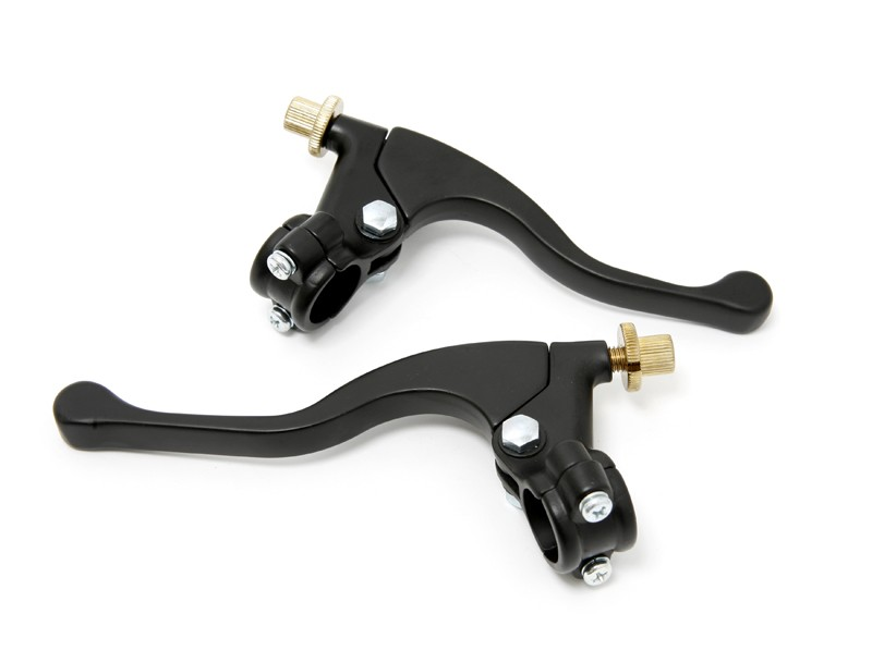 Universal Moped Lever Set -Black