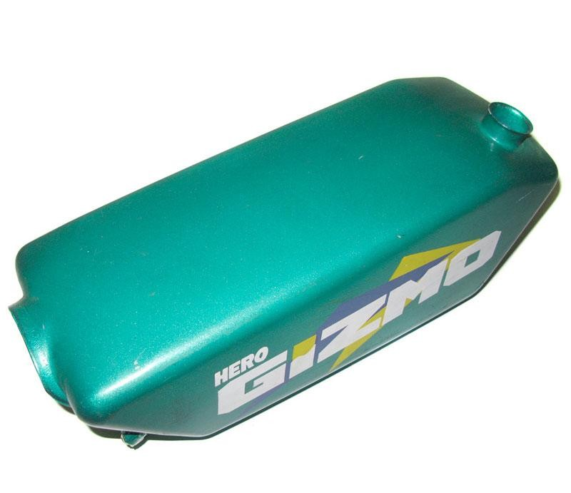 Hero Gizmo Moped Gas Tank -Teal, Includes cap!