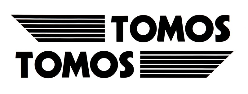 Tomos Viny Decal Set -Black