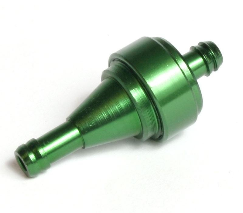 Posh 5mm Moped Fuel Filter -Green