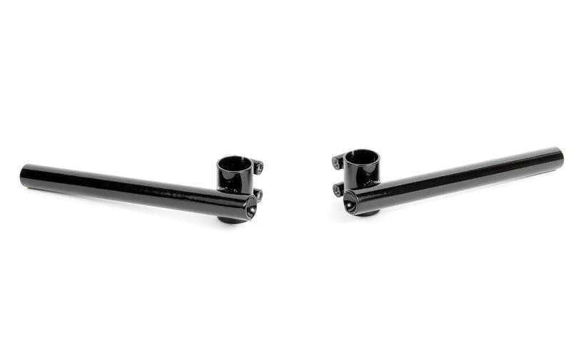 Indigan Double Bolt Clip-on Bar -30mm Black Edition
