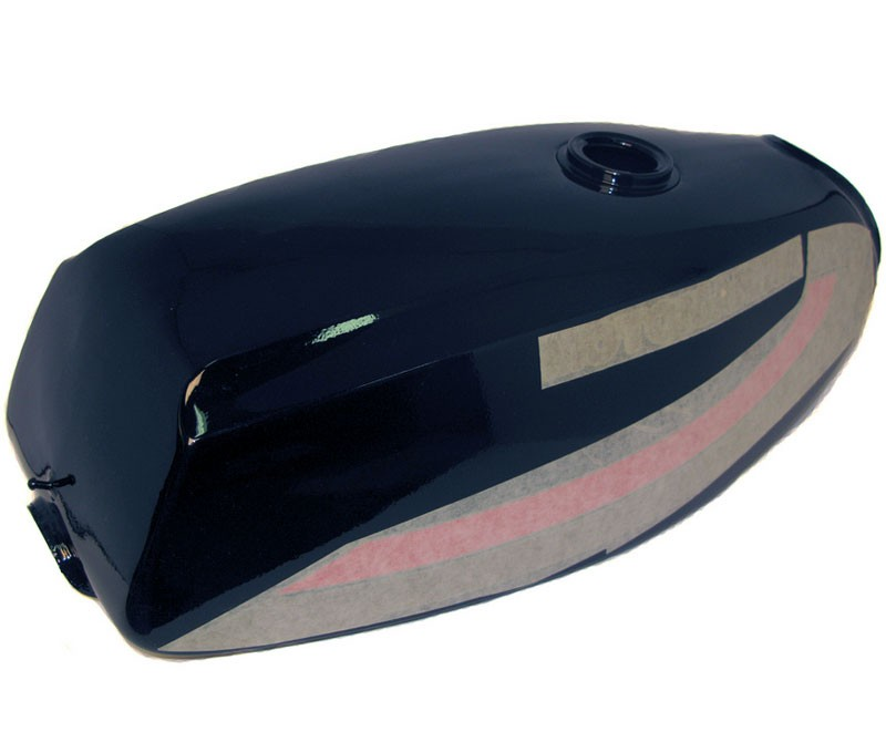 Sebring Gas Tank and Cover Set. -BLK