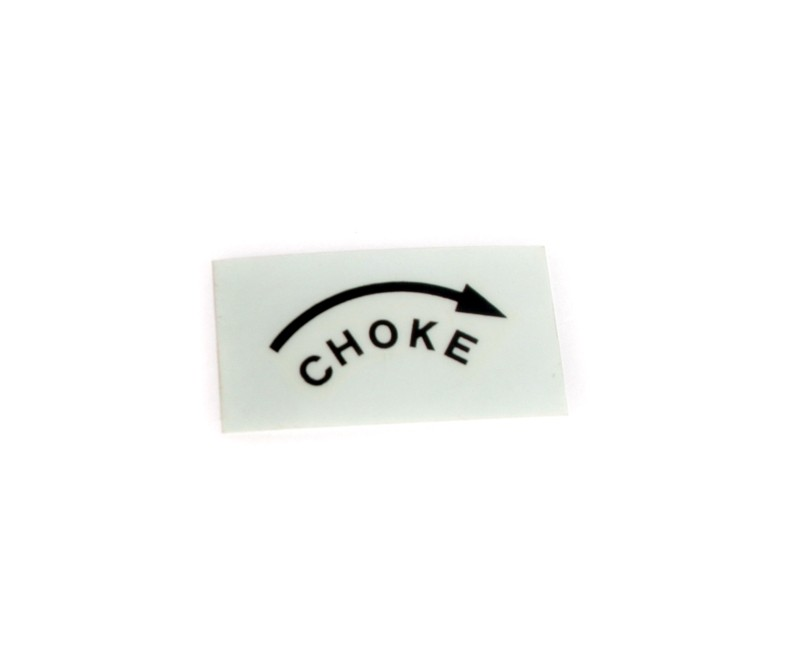 Choke Sticker