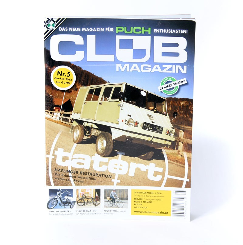 Club Magazin Issue #5 -The magazine for Puch enthusiasts