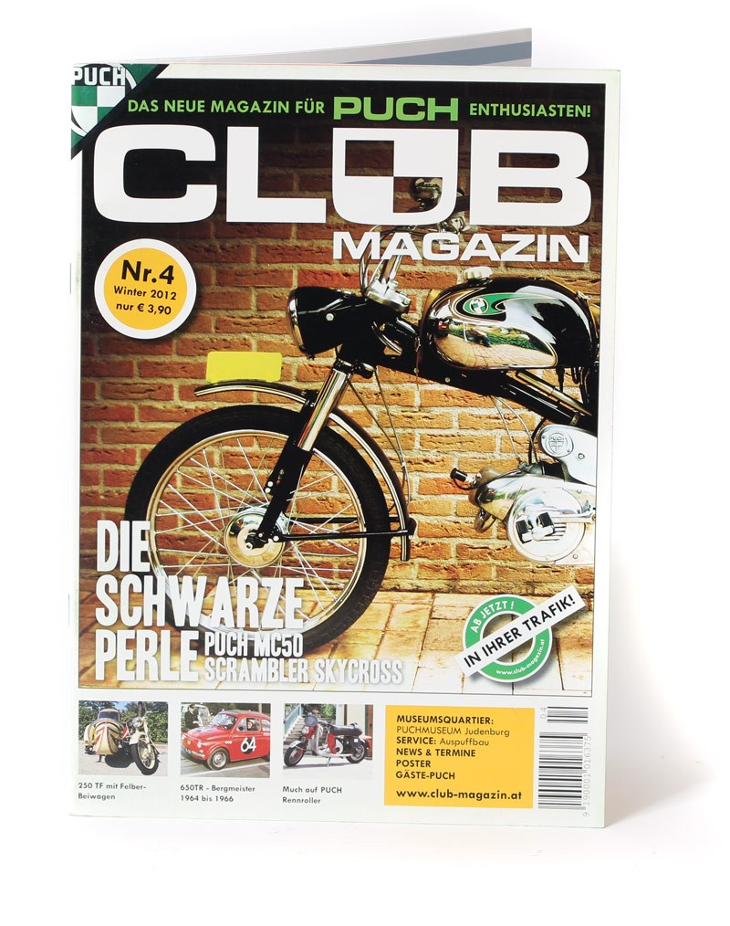 Club Magazin Issue #4 -The magazine for Puch enthusiasts