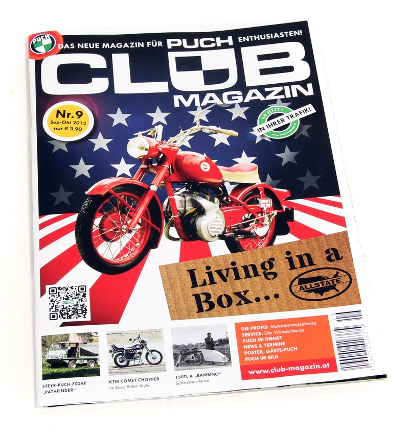 Club Magazin Issue #9 -The magazine for Puch enthusiasts