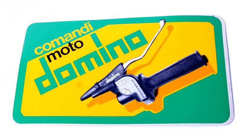 Comandi Moto Domino Decal/Sticker