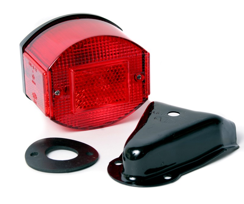 Universal CEV Round Tail-light with Mounting Bracket