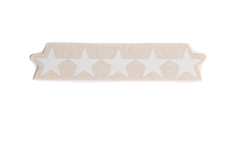 Five Star Sticker for your Five Star