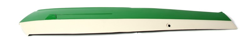 Peugeot & Sachs Green and Off White LEFT Side Cover