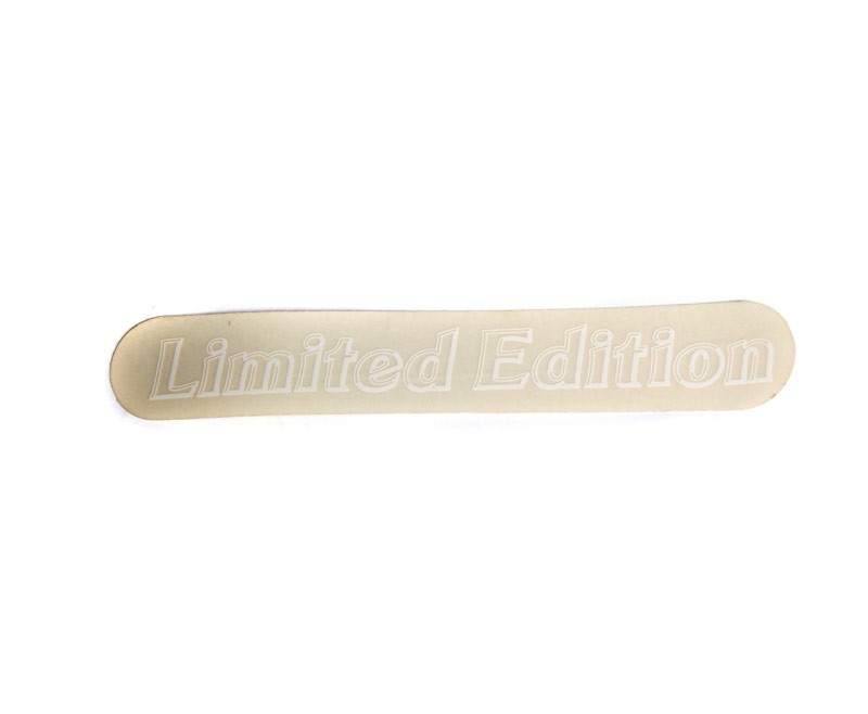 General 5 Star Limited Edition Decal -White Lettering