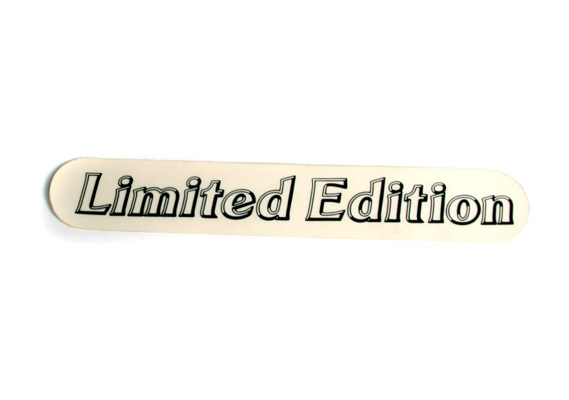 Limited Edition Sticker