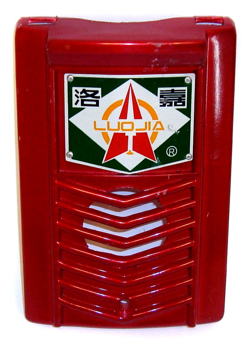 Luojia Honda Moped Future Space Fork Cover - Red