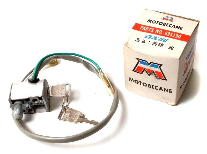 Motobecane Keyed Ignition Switch