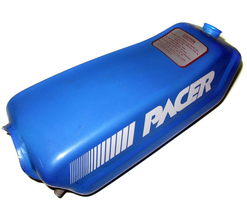 Hero Pacer Moped Gas Tank -Blue