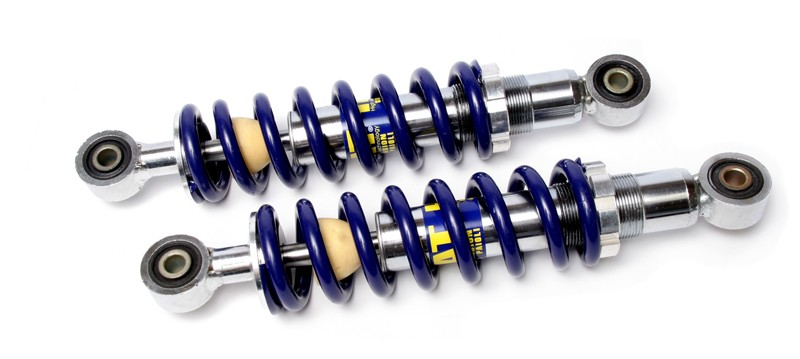 Paioli HAT Blue and Silver Racing Shocks 275mm