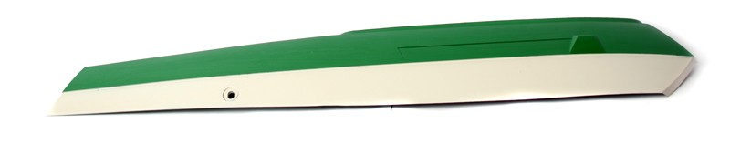 Peugeot & Sachs Green and Off White RIGHT Side Cover