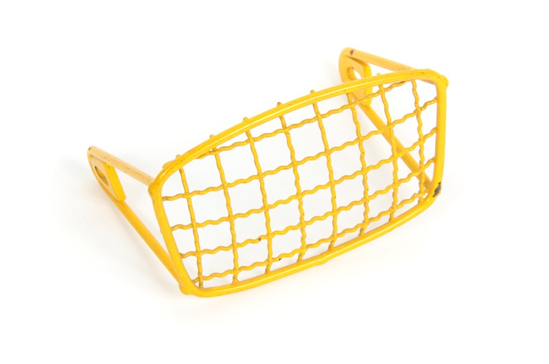 Euro Headlight Grill -Yellow