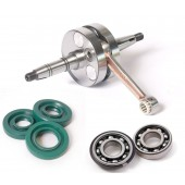 Puch E50 Aluminum Stuffed Race Crank Everything Kit
