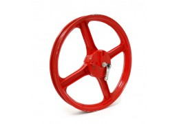Vespa Bernardi Mozzi Front Wheel RED