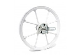 Tomos White Cross Rear Wheel