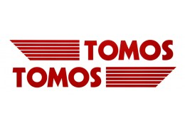 Tomos Viny Decal Set -Red