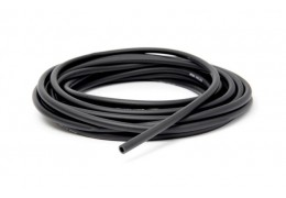 Black Rubber Fuel Line 5mm -ft