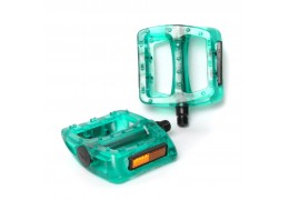 77 House Brand Plastic Pedal -Clear Green
