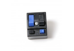CEV Black & Blue Horn and Light Switch