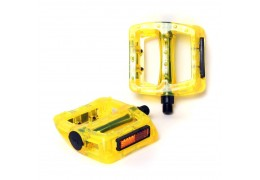 77 House Brand Plastic Pedal -Clear Yellow