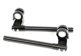 Aluminum Clip-On Riser Bars -Black