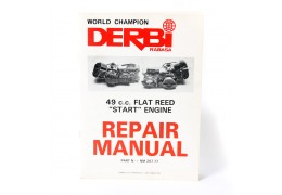"World Champion Derbi Flat Reed ""Start"" Repair Manual"