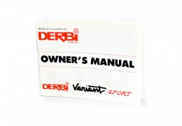 Derbi Variant Sport Owners Manual