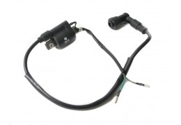 Universal 12v High Tension Coil with Sparkplug Wire and Boot