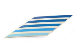 Fancy General Stripes Diamond Sticker