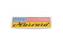 Negrini Harvard American Flag Sticker