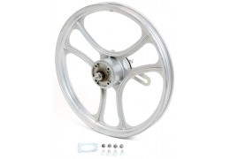 "Silver 16"" Grimeca 3 Star Rear Wheel"