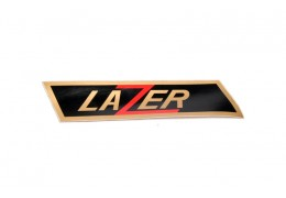 Lazer Gold and Black Decal
