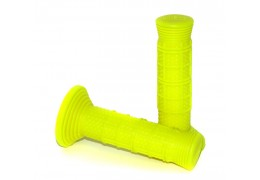Neon Yellow Moped Grips