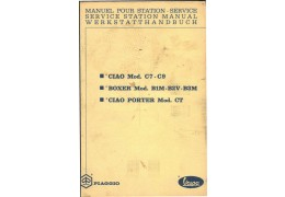 Vespa Ciao Boxer Moped Service Manual