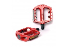 77 House Brand Metal Pedal -Red