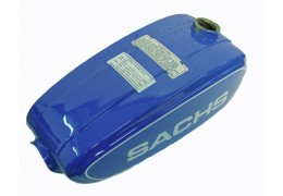 Sachs Suburban Moped Gas Tank -Blue