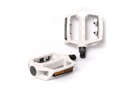 77 House Brand Metal Pedal -White